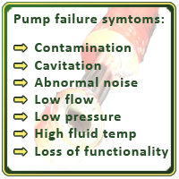 Pump failure